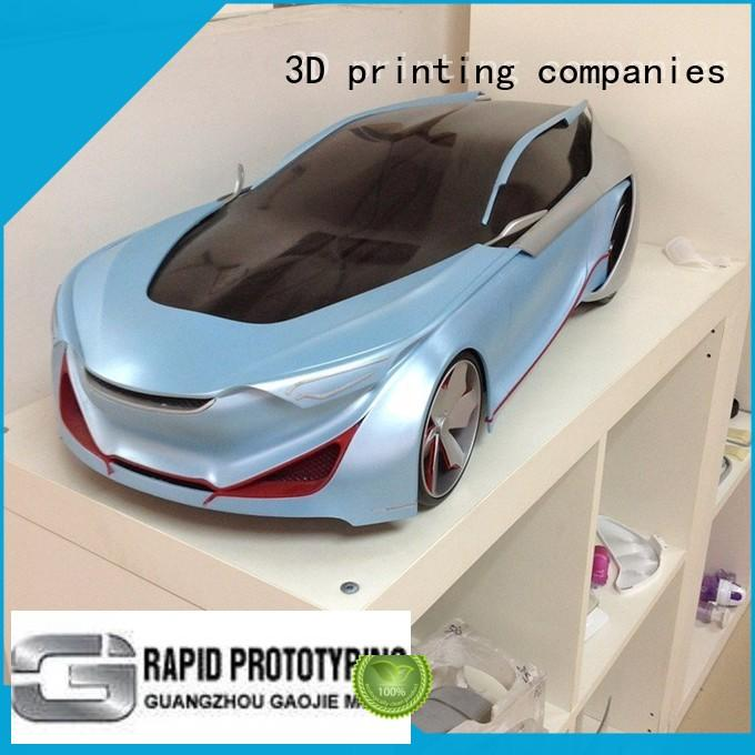 CNC Plastic parts Car model prototyping services