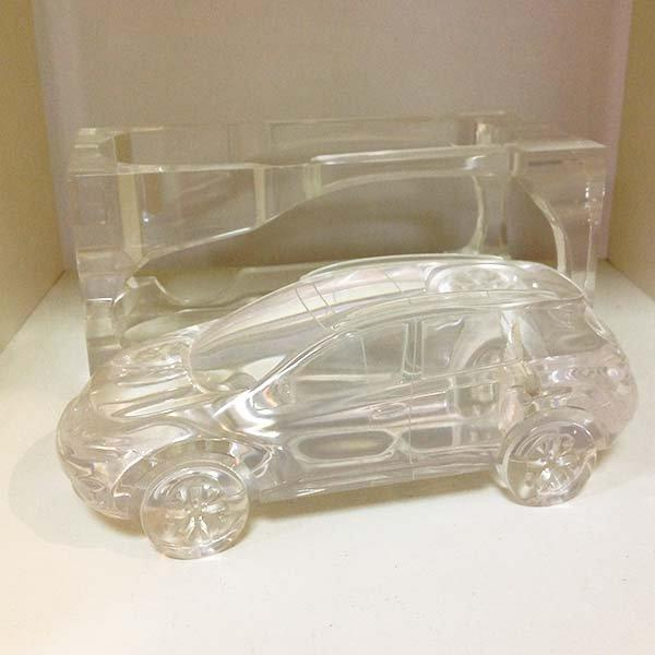 Personalized crystal car model