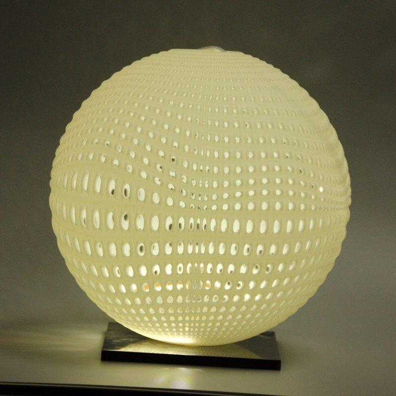 sla sls 3d printing parts lamp models