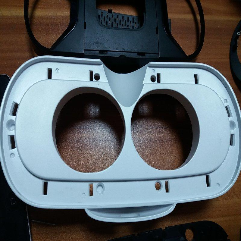 CNC Machining Case Plastic and Rubber fast prototype Virtux VR