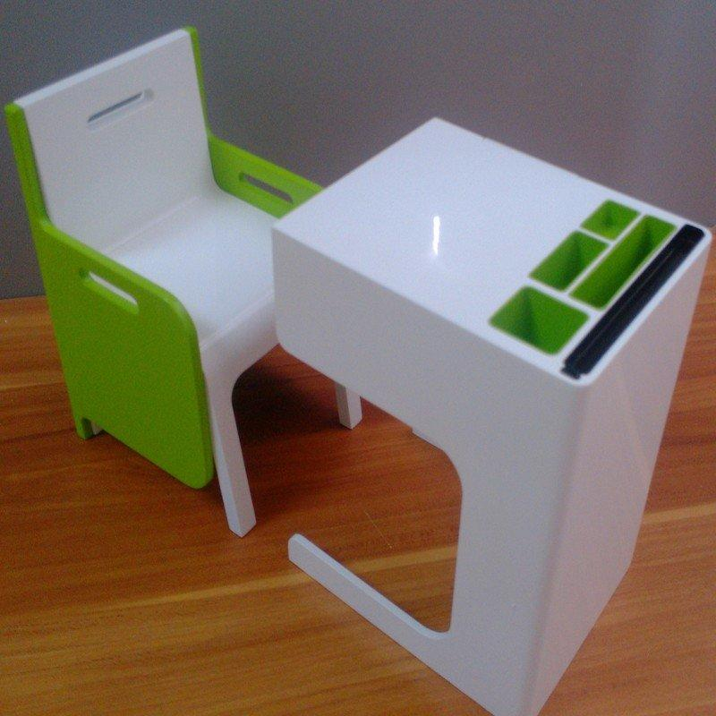 CNC Machining company Rapid Prototype Plastic desk chair model