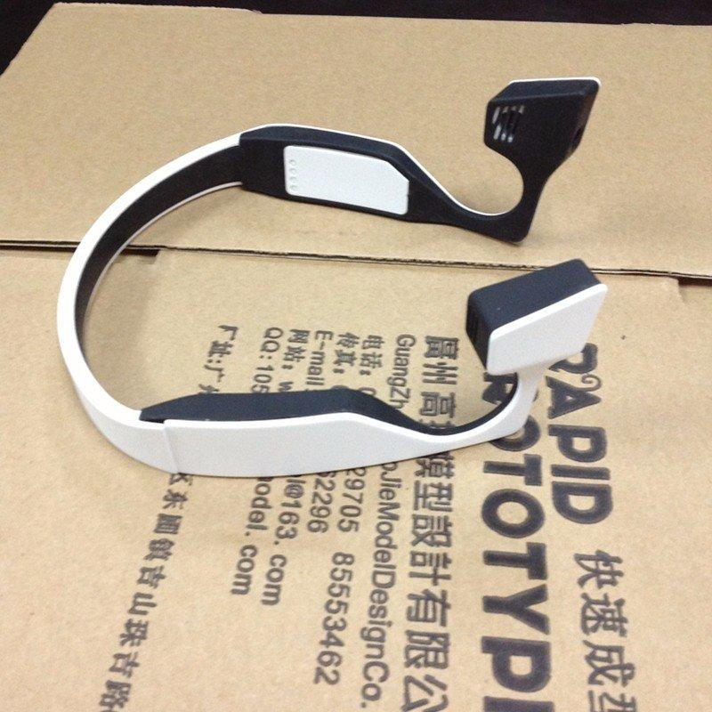 Plastic CNC Machining headphones shell