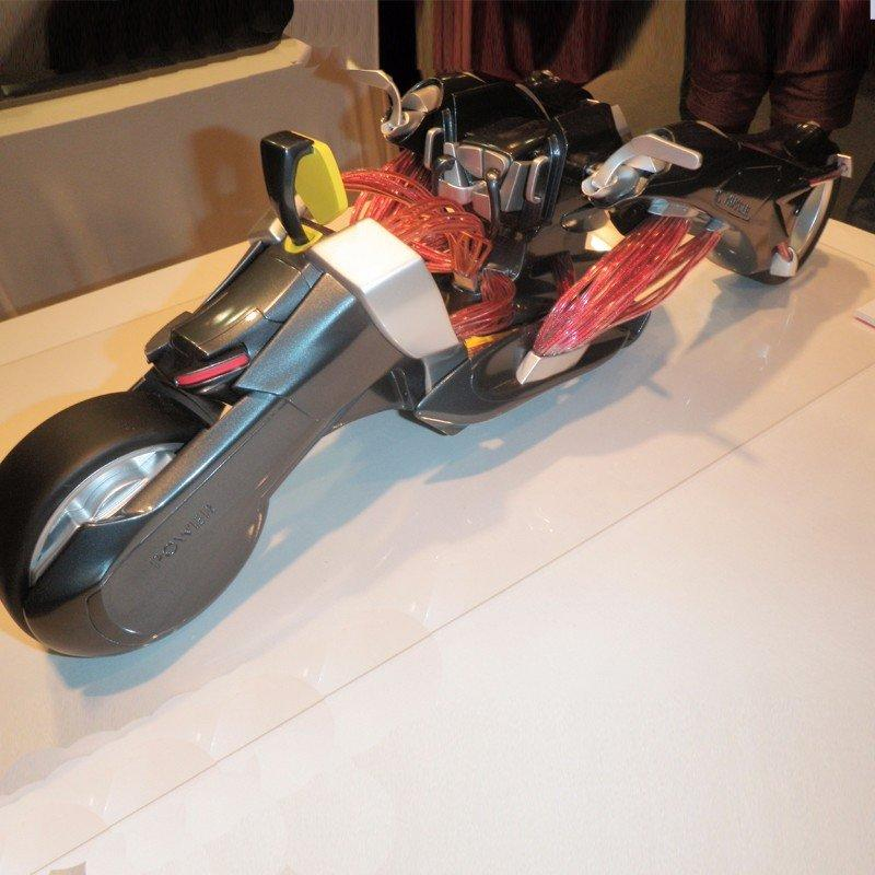 Motorcycle automobile appliance rapid prototyping