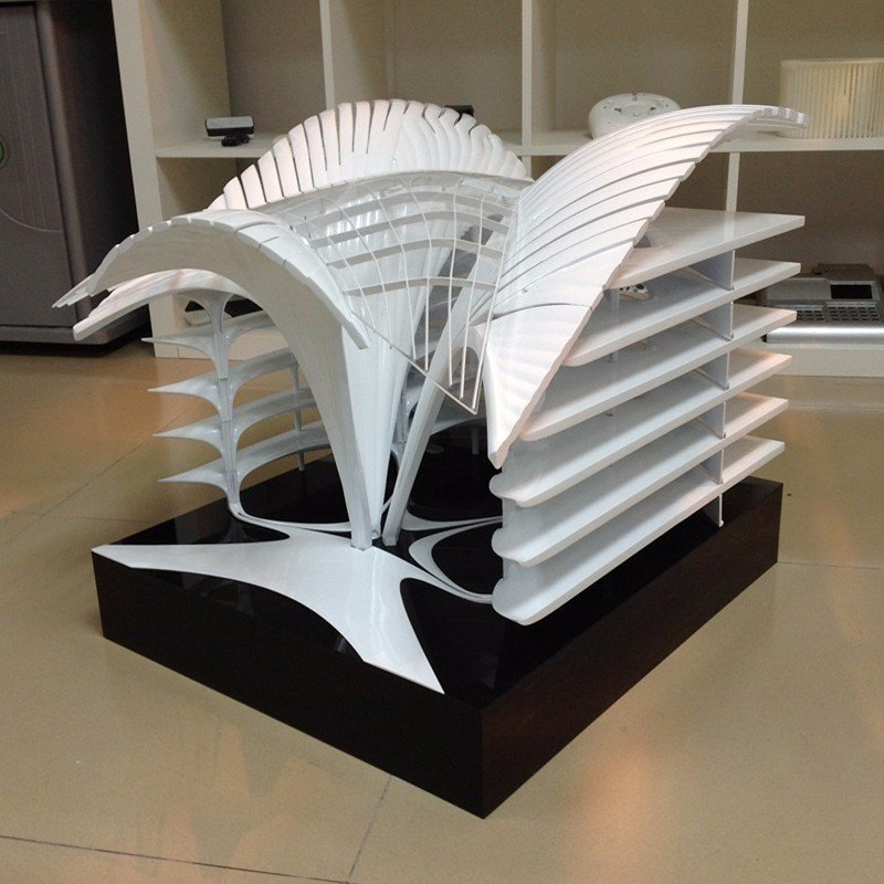 Gaojie Model  High Accuracy Advance 3D rapid prototyping Famous building model Plastic Prototypes image60