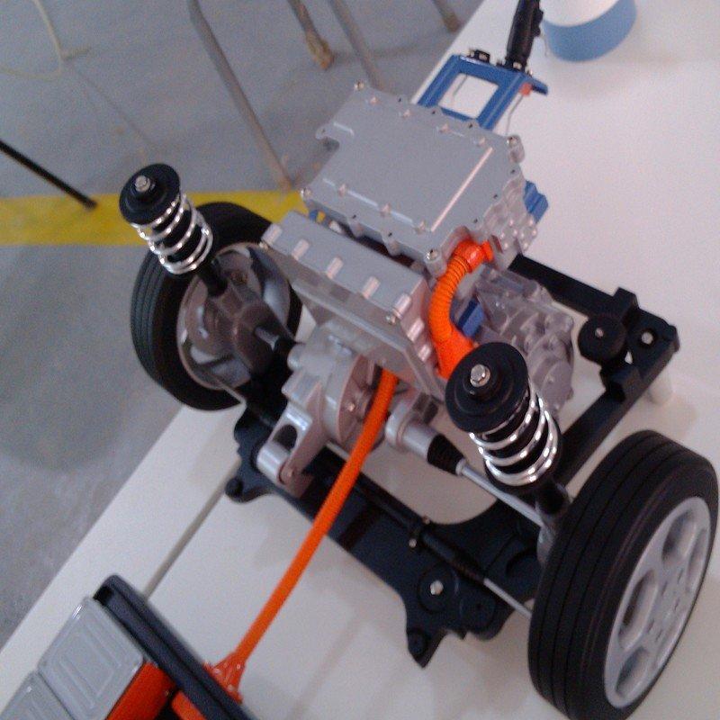 Best quality machining modeling aluminum steel Plastic Solar energy car models