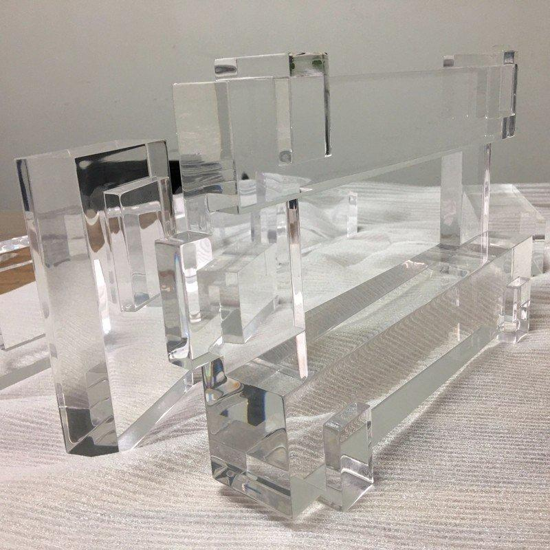 Qualified CNC Machining Custom Transparent  Plastic Parts
