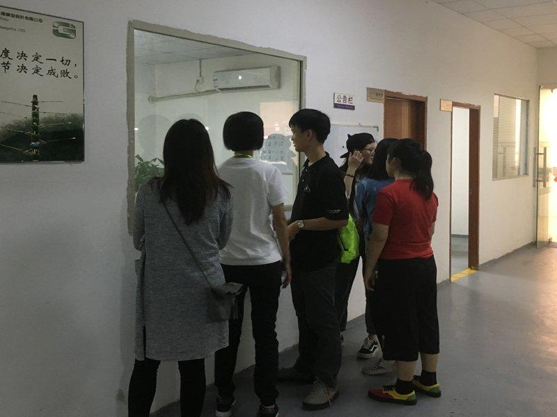 June 2017 Hongkong Taishan chamber of Commerce, school teachers and students to visit the factory