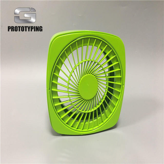 Electric fan with ABS matt painting