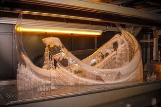 Mammoths from the Ice Age, 3D printing technology takes you through time and space