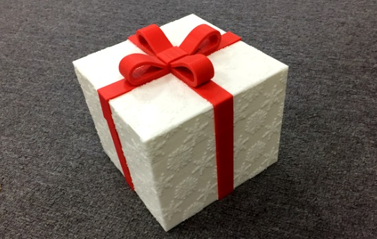 How to make gift box with 3D printer?
