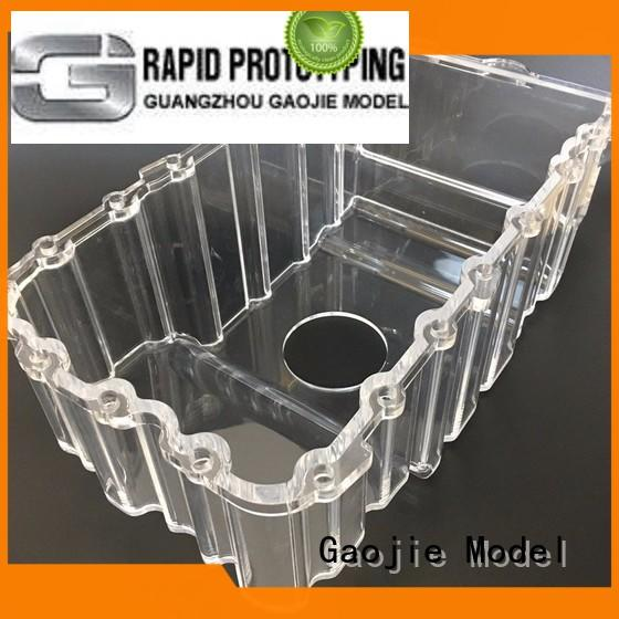 CNC Machining High Polished Large transparent Acrylic factory supplier