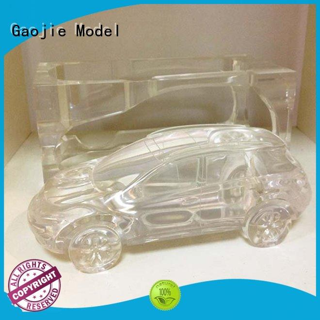 machining Transparent Prototypes acrylic Gaojie Model company