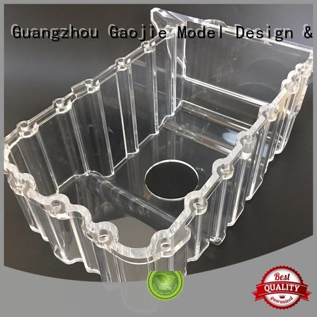 precision Transparent Prototypes large parts Gaojie Model company