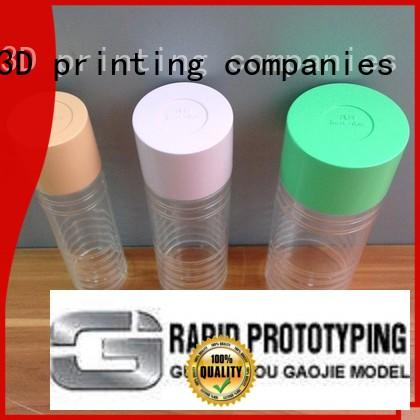 Gaojie Model durable Transparent Prototypes Manufacture from China for factory