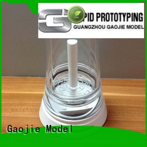 Gaojie Model commercial abs plastic 3d printing pump for factory
