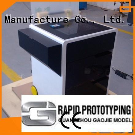 computer case Gaojie Model Brand plastic prototype service