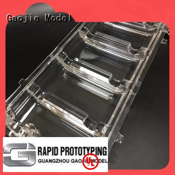 Precision Industrial CNC Machining Acrylic PMMA Rapid prototype