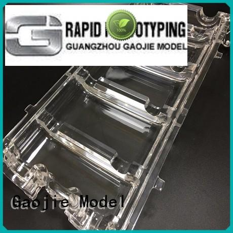 durable Transparent Prototypes Manufacture large series for industry