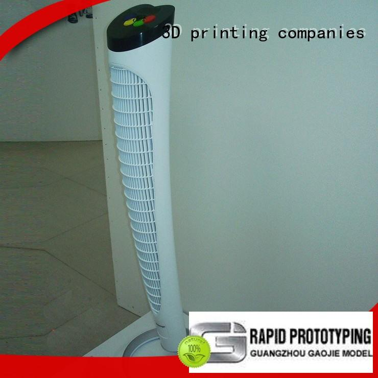 High precision 3d prototyping Refrigeration air conditioning fan