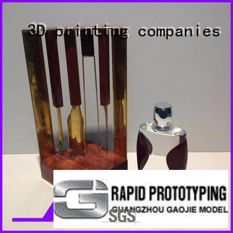 Gaojie Model industrial 3d printing metal service plastic for factory