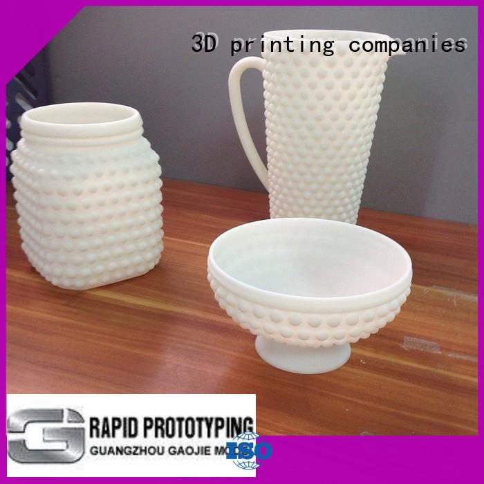Gaojie Model electroplating 3d printing companies personalized for industry