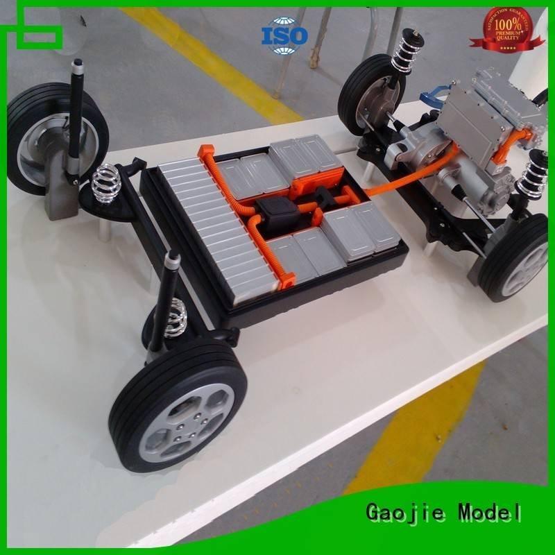 polished Metal Prototypes Gaojie Model metal rapid prototyping