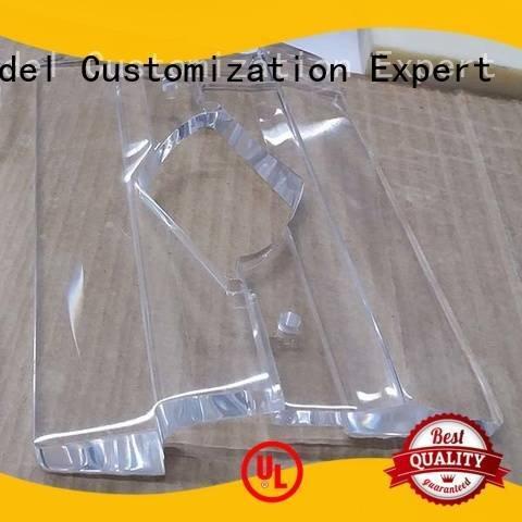 3d print transparent plastic good prototypes Gaojie Model Brand