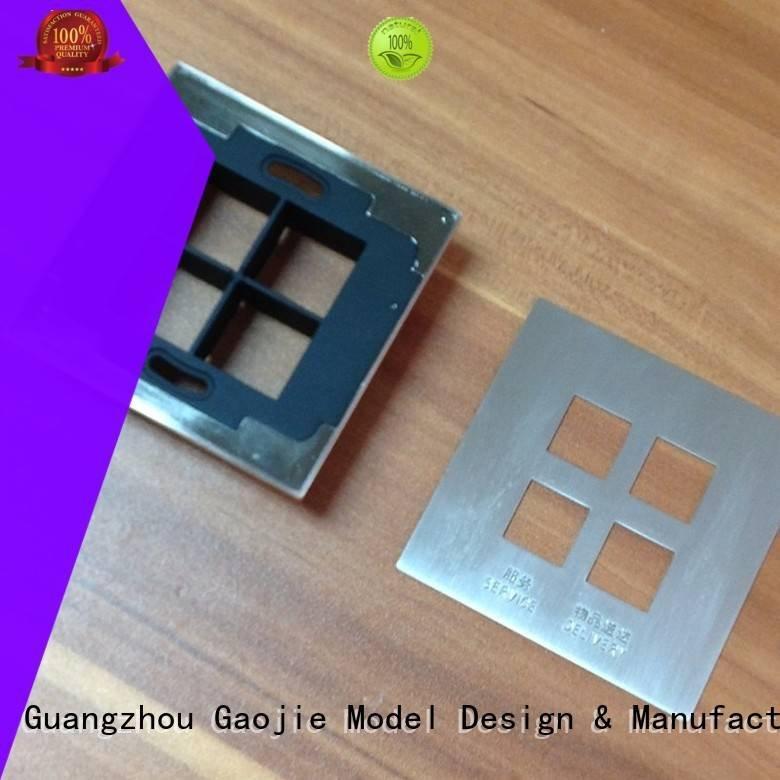 metal rapid prototyping practical brass Metal Prototypes Gaojie Model Brand