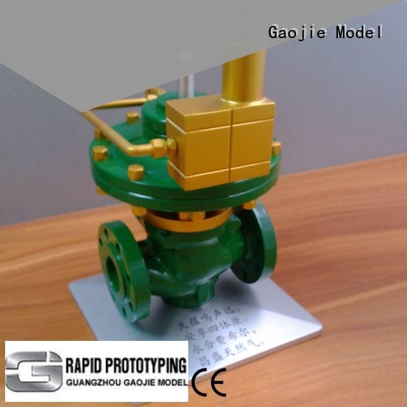 anodized Metal Prototypes products milling Gaojie Model