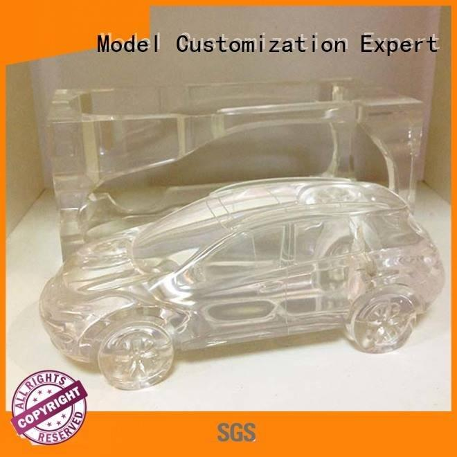 crystal household 3d print transparent plastic Gaojie Model