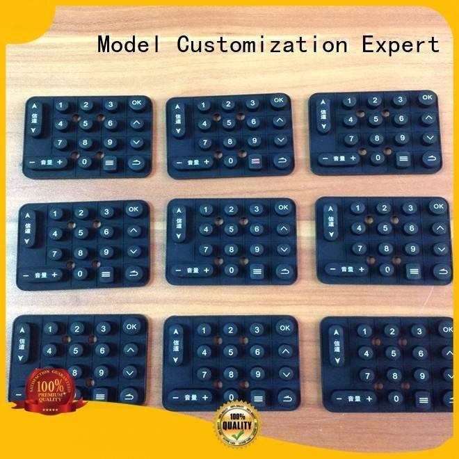 Gaojie Model circuit plastic keys rapid prototyping companies production