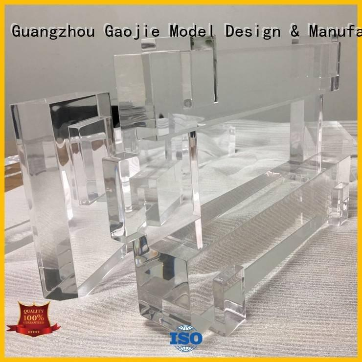 OEM 3d print transparent plastic bottles industrial crafts Transparent Prototypes