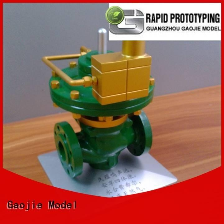 Gaojie Model metal rapid prototyping modeling brass structure