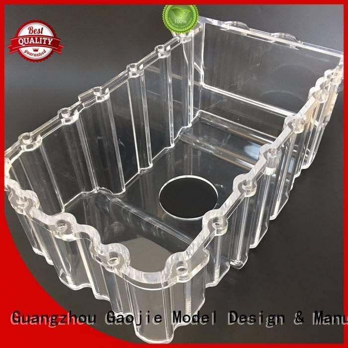 3d print transparent plastic precision seasoning model Gaojie Model