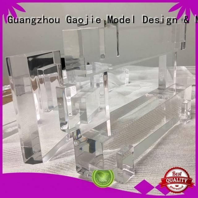 3d print transparent plastic prototype seasoning OEM Transparent Prototypes Gaojie Model