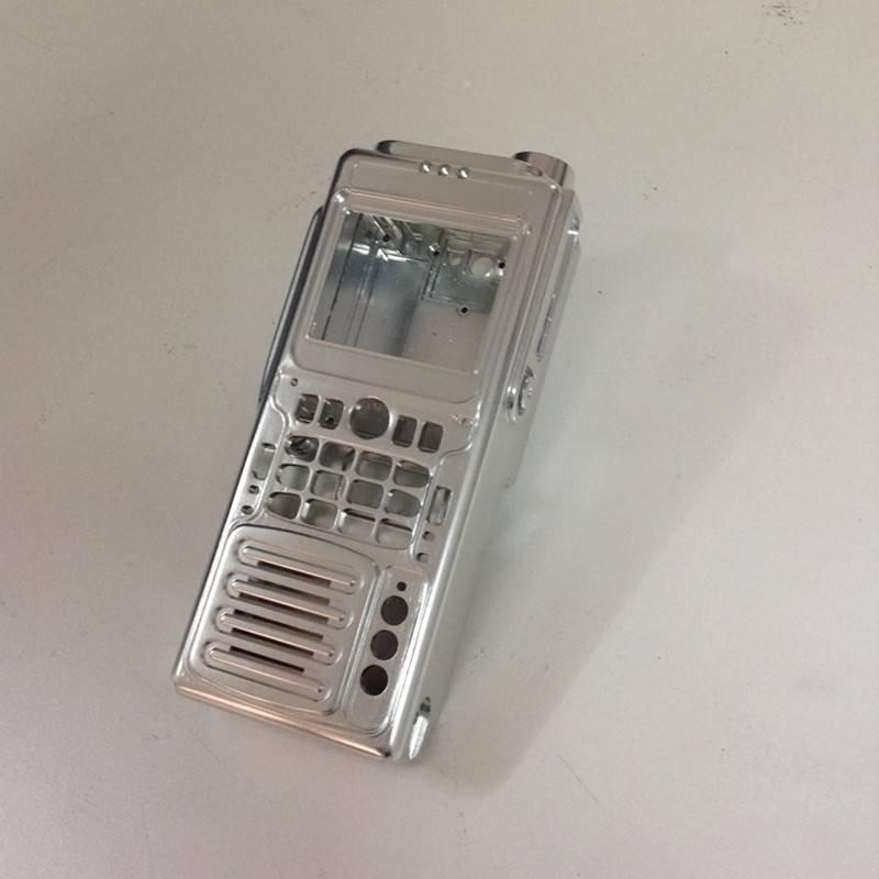 CNC Machining custom communications products Walkie Talkie Prototype