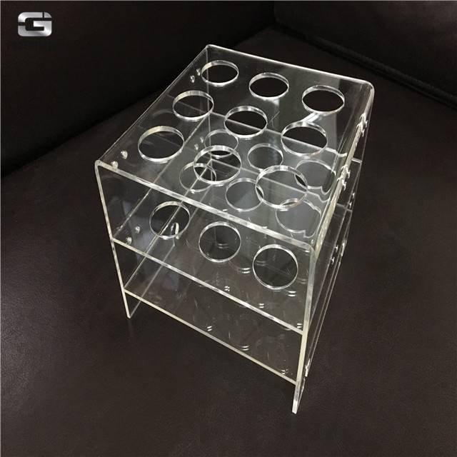 acrylic plastic high transparency cnc precision machining parts for laboratory testing