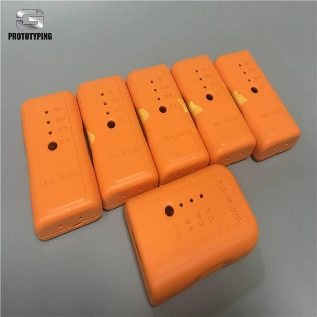 Matte painted abs cnc machining protoype