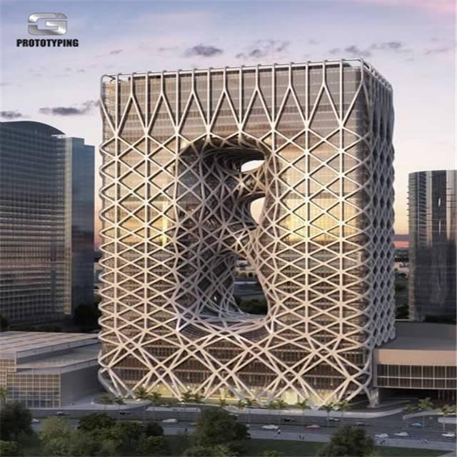 Zaha hadid design -- Morpheus Hotel in Macau