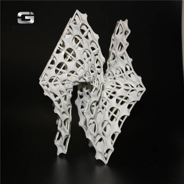 Biotechnology art SLA 3d printing