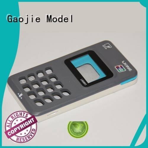 Gaojie Model Brand household desk cabinet Plastic Prototypes cnc