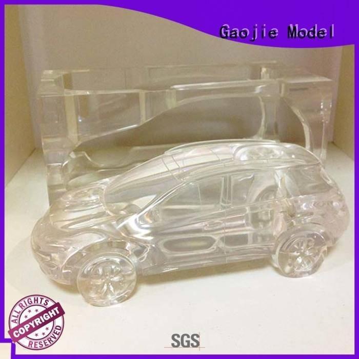 3d print transparent plastic glass Transparent Prototypes car Gaojie Model