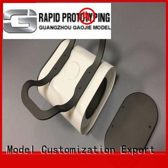 Gaojie Model pmma professional prototyping cnc plastic machining virtux