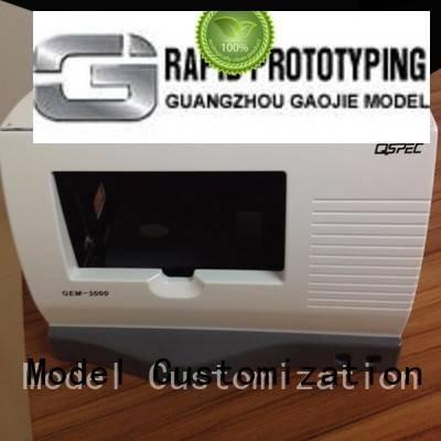cnc plastic machining inspection medical print Gaojie Model