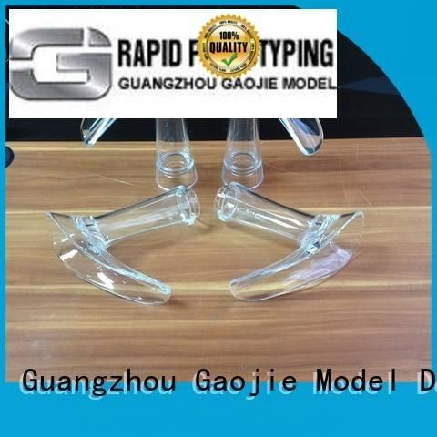 Wholesale prototype glass Transparent Prototypes Gaojie Model Brand