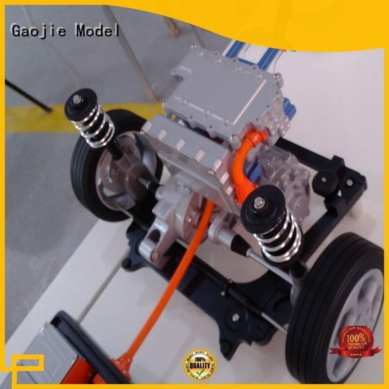 Gaojie Model cnc plastic machining abs genuine painted solutio