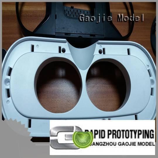 Gaojie Model Brand greenlatrine cnc plastic machining plastic instrument