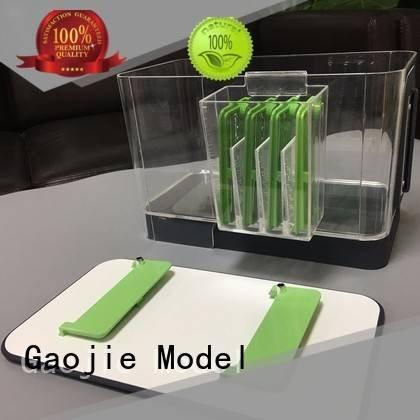 polished machined acrylic small Gaojie Model 3d print transparent plastic