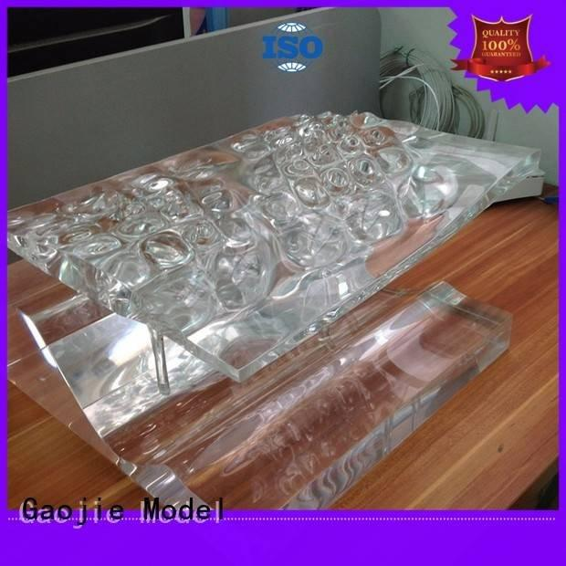 Gaojie Model Brand cad qualified Transparent Prototypes machined arts