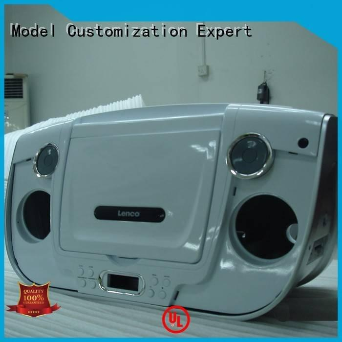 Hot plastic prototype service made accuracy air Gaojie Model Brand